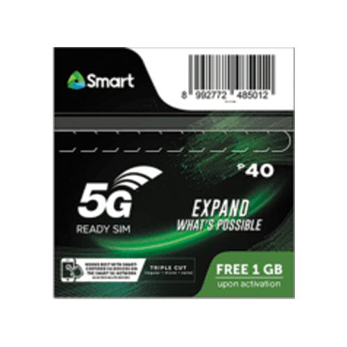 smart 5g simcard prepaid